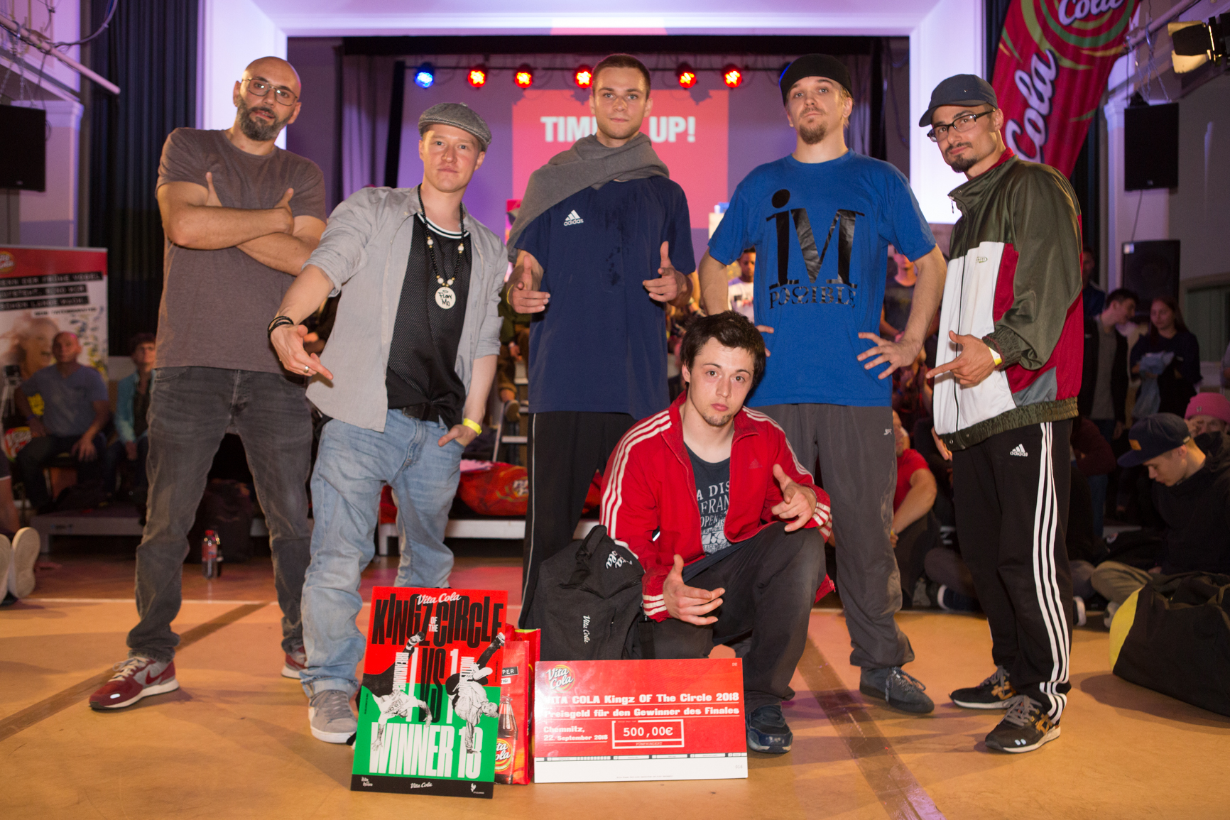 Impressionen vom Finale des VITA COLA Kingz Of The Circle 2018 (® Denis Liebscher)
