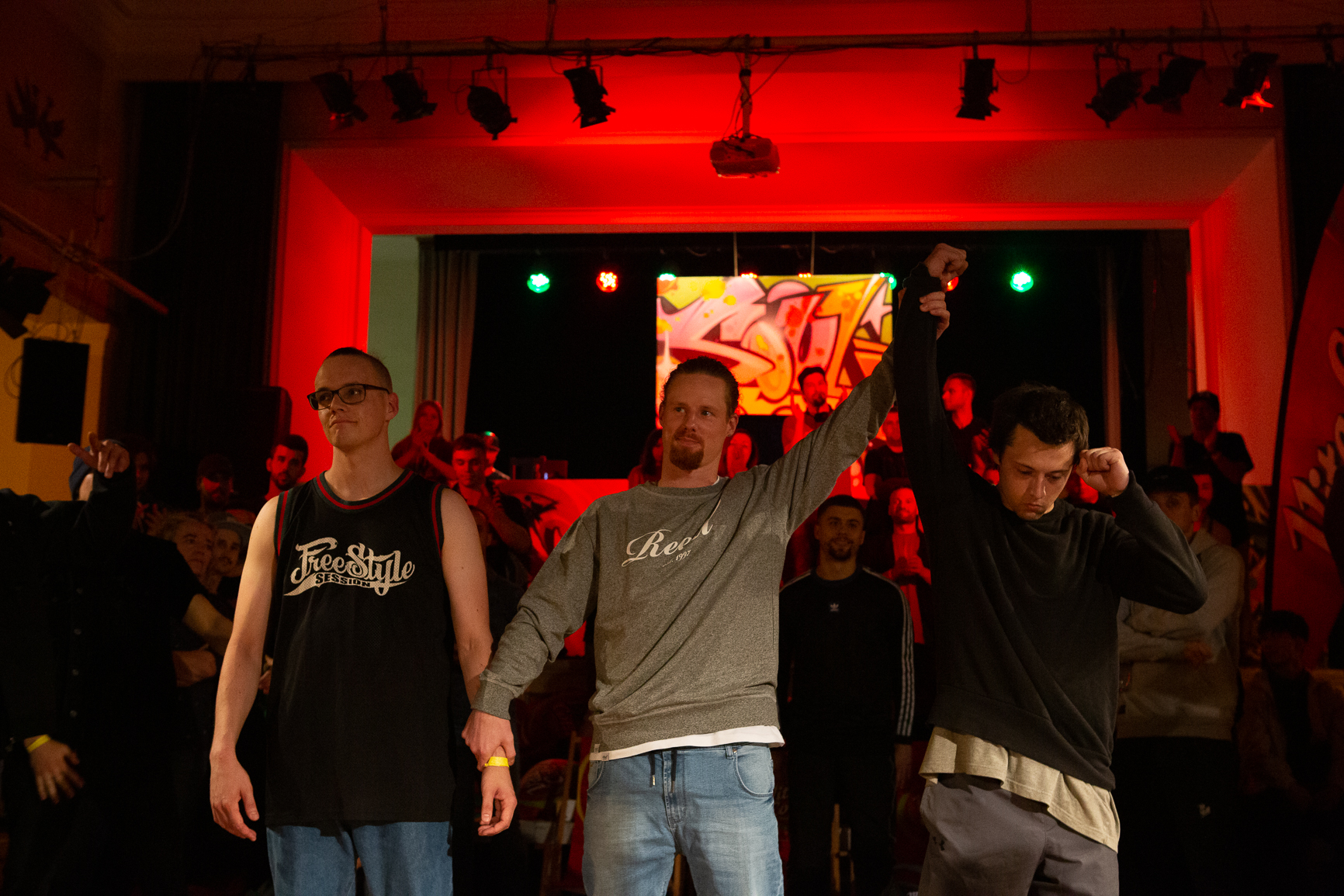 Impressionen vom Finale des VITA COLA Kingz Of The Circle 2019 (® Denis Liebscher)