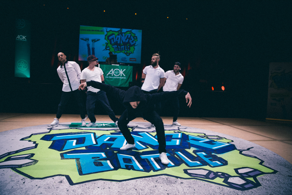 THE SAXONZ @ AOK Dance Battle (® Björn Vofrei)