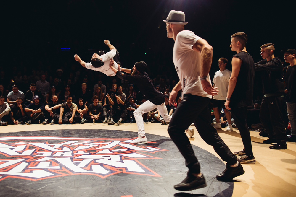 THE SAXONZ beim Battle Of The Year Germany 2015 (Foto: Erik Gross)