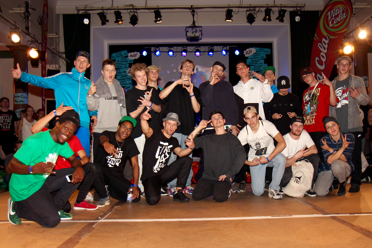 Impressionen vom Finale des VITA COLA Kingz Of The Circle 2015